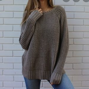 American Eagle The Jegging Sweater knit XL